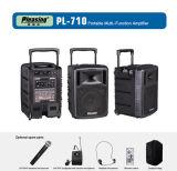 Wireless Amplifier PA Spearler Trolley Power Speaker Pl-710