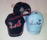 Printing and Embroidery 100%Cotton Child Cap Dh-Lh7612