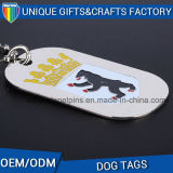 Logo Engraved Souvenir Gift Metal Dog Tag