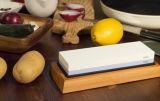 Red-White 1000/6000 Grit Corundum Whetstone Knife Sharpening Stone