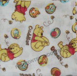 100 Cotton Double Gusset Printed Baby Muslin Wraps