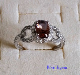 Jewellery-Synthetic Zultanite Sterling Silver Ring (R1582)