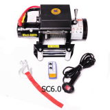 off Road Winch 6000lb CE Approved