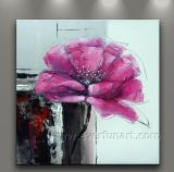 Modern Wall Art Flower Oil Painting (FL1-144)