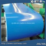 PPGI Stw Ocean Blue Prepainted Galvanized Steel Coil Sheet