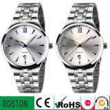 Mesh Steel Band Quartz Wrist Simple Watch for Men