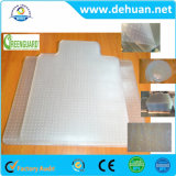 """Chair Mat for Carpets up to 0.1"""" Thick, 47""""X35"""", Rectangular with Lip"""