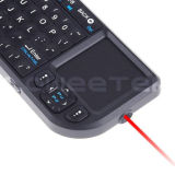 Ultra Mini Bluetooth Keyboard with Touchpad & Laser Pointer + Bt Dangle -ZW-51006BT(WMK02)