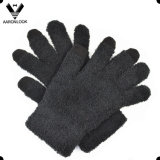 Trendy Microfiber Knitted Three Finger Touching Screen Glove for iPhone/iPad
