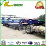 American Suspension Fuwa Axles Transport Road Roller Lowbed Trailer