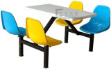 Simple Design Student Canteen Table Chair Furniture for School