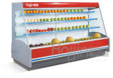 Fruit & Vegetable Display Refrigerator / Supermarket Display Showcase