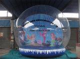 Big Inflatable Human Snow Globe, Snow Ball Souvenir