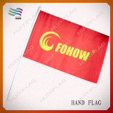 Custom Plastic Promotional National Hand Held Stick Flags (HYHF-AF072)