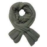 Lady Fashion Acrylic Knitted Scarf in Fishtail Shape (YKY4162)