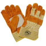 Safety Leather Working Gloves with Ce En388