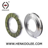Resin Bond Diamond Squaring Wheel (Working Layer With Flume)