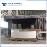 Modern Design Artificial Marble Reception Counter with SGS Certificate (TW-039)