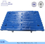Manganese Steel Trio CT1048 Jaw Crusher Parts Tooth / Jaw Plate with Superior Quality