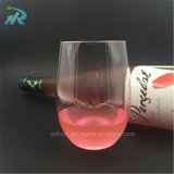 16oz Tritan Plastic Cocktail Cup, Acrylic Stemless Wine Glass Bulk