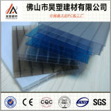 100% Bayer Materials Blue Triple-Wall Polycarbonate Hollow Sheet for Awning