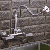 Wall Set 304 Stainless Steel Kitchen Tap