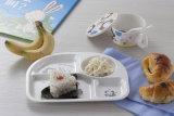 100% Melamine Dinnerware- Kid′s 4-Divided Plate/Baby Dish (NBG802)