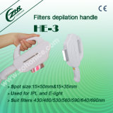 He-3 4 Filters Handle IPL Machine Accessory
