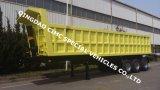 Cimc 40cbm 3 Axle Dump Tipping Semi Truck Trailer Chassis