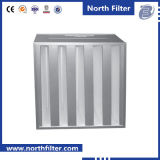 H13 V-Type HEPA Filter with USA Hv Glass Fiber Media