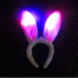 Plush LED Flashing Bunny Ears Headbands