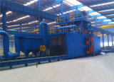 Large Size Tunnel Type Steel H Beam Shot Blasting Machine