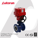 Flange Wcb Electrical Actuated V Ball Valve