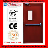 Low Price 2.0h Fire Rated Steel Fire Door with BS and UL Certificate (CF-F008)