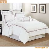 Simple Embroder Design Hotel Bedding Sets