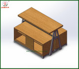 Department Store Use Garment Display Wooden Shelf (JT-A30)