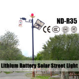 Aluminum Lamp Body Material 12V 30ah Lithium Battery Solar Street Lights IP65