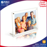Customized Acrylic Photo Frame with Advertisement Nail