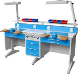 Dwt-Lt6 Double Worker Dental Lab Work Table