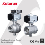 Pneumatic One-Piece&Two-Piece Ball Valve with Mini Actuator