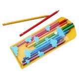 Plastic Printing Cute Zipper PVC Pen Bag