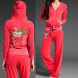 Fashion Leisure Ladies Velvet Suit (001)