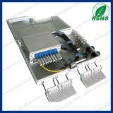 PLC Splitter 1*16 Fiber Optic Distribution Box Splitter for Pole and Wall Mount