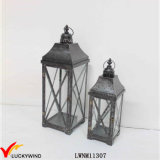Wholesale Set 2 Metal Decorative Lantern for Candle