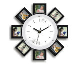 New Design Photo Frame Picture Frame Wooden Wall Clock