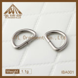 Nice Quality Small Size D Ring Buckles 17mm in Nickel