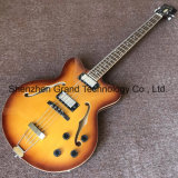 Es335 Maple Top Double F-Hole Hollow Body Jazz Guitar (JH-3)