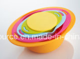 5PCS Plastic Colorful Bowl Set/Kitchen Bowl Set/B0019