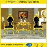 Foshan Manufacturer Luxury Classic Dining King Chair Set