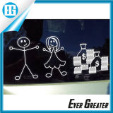 Silk Screen Familiy Car Window Stickers OEM